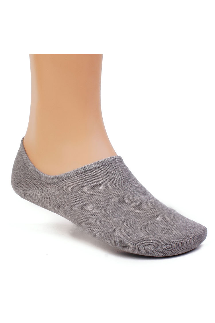 Bamboo anklet socks with silicon